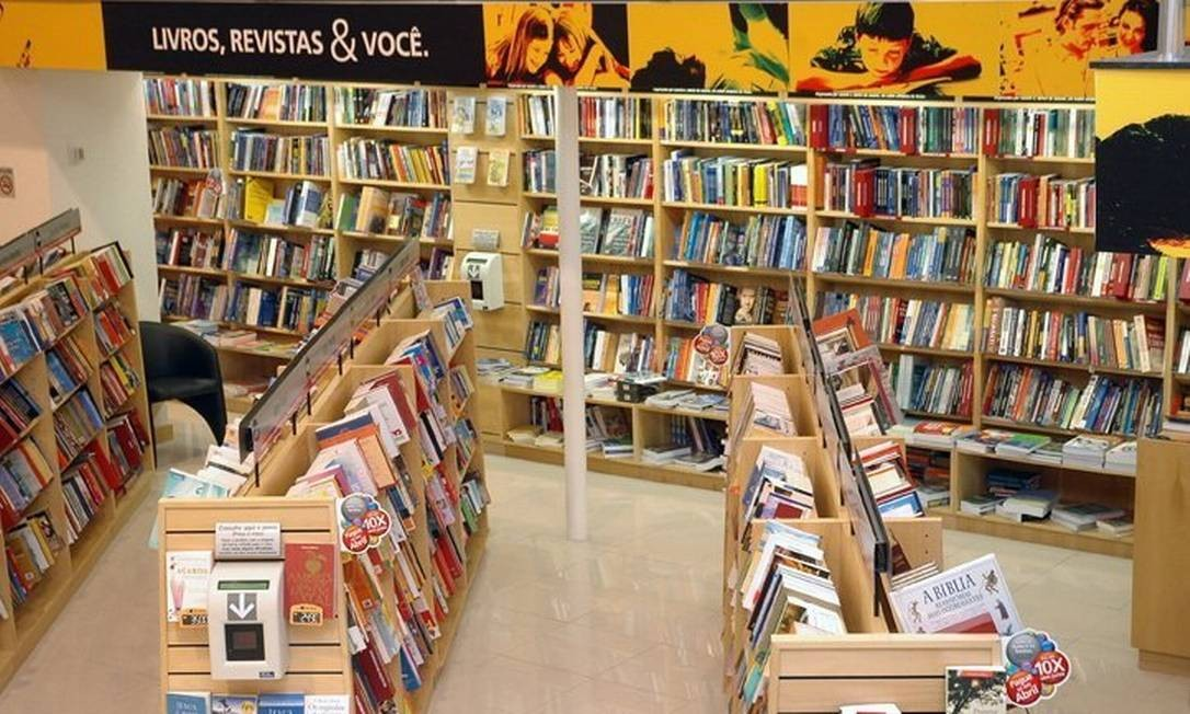 Loja da livraria Saraiva no Norte Shopping Foto: Marco Antônio Teixeira / Agência O Globo