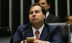 O presidente da Câmara dos Deputados, Rodrigo Maia (DEM-RJ) Foto: Ailton de Freitas / Agência O Globo