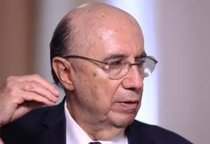 Henrique Meirelles, ministro da Fazenda Foto: Jorge William / Agência O Globo