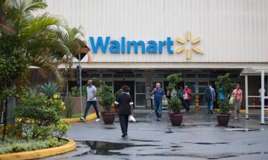 Loja da rede Walmart em São Paulo Foto: Patricia Monteiro / Bloomberg