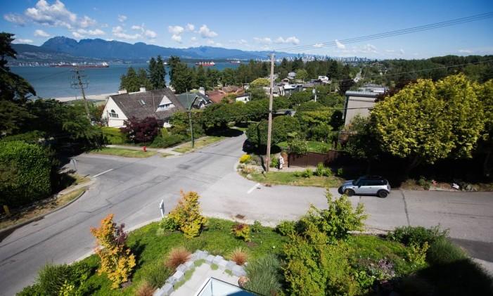 Bairro de Point Grey em Vancouver Foto: Darryl Dyck / Bloomberg