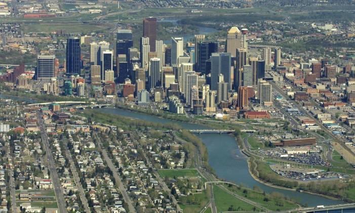 Vista aérea de Calgary Foto: Dave Olecko / Bloomberg News