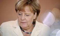 Angela Merkel, chanceler da Alemanha Foto: STEFANIE LOOS / REUTERS