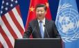 O presidente chinês Xi Jinping Foto: SAUL LOEB / AFP