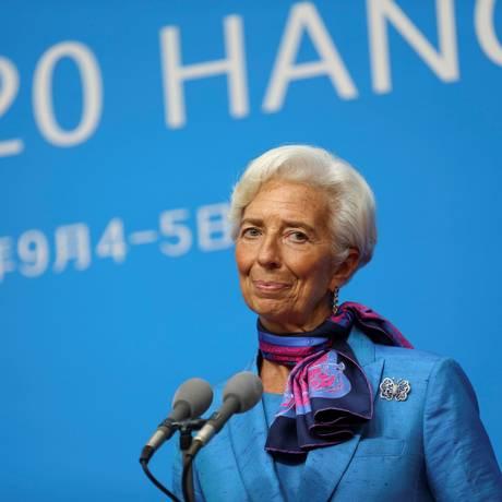 Christine Lagarde, diretora-gerente do FMI Foto: CHINA STRINGER NETWORK / REUTERS