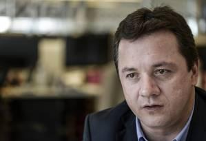 Wesley Batista, da J&F, que é dona de empresas como JBS e Alpargatas Foto: Paulo Fridman / Bloomberg