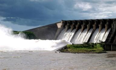 Usina de São Simão, da Cemig Foto: Divulgação
