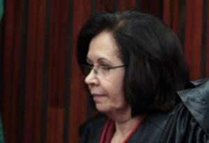 A ministra Laurita Vaz, presidente do STJ Foto: Givaldo Barbosa / Agência O Globo