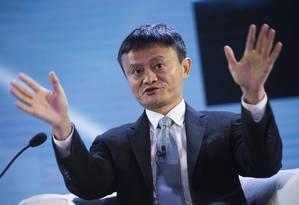 Jack Ma, da gigante chinesa Alibaba Foto: SAUL LOEB / AFP