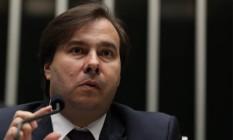 O presidente da Câmara dos Deputados, Rodrigo Maia(PMDB-RJ) Foto: Ailton de Freitas/Agência O Globo