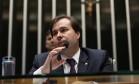 Rodrigo Maia (DEM-RJ), presidente da Câmara dos Deputados Foto: Ailton de Freitas / Agência O Globo