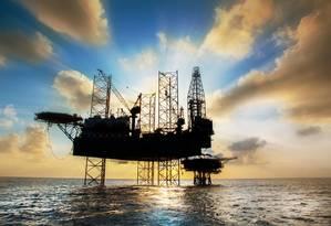 Plataforma de petróleo Foto: Fotolia