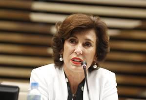 Maria Silvia Bastos Marques, presidente do BNDES Foto: Agência O Globo