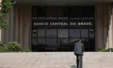 Sede do Banco Central do Brasil, agência na Asa Sul, Plano Piloto de Brasília Foto: Michel Filho / Agência O Globo