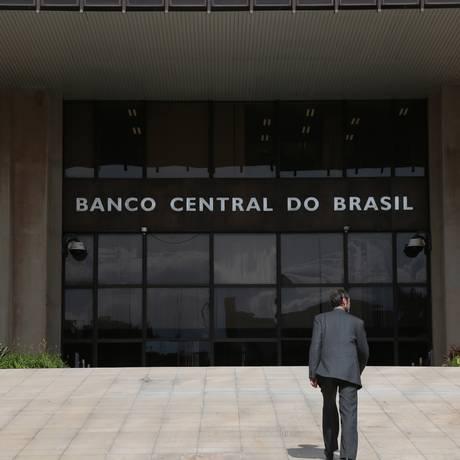 Sede do Banco Central em Brasília Foto: Michel Filho / Agência O Globo
