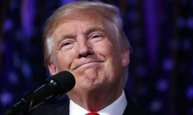 Donald Trump, presidente eleito dos EUA Foto: Evan Vucci / AP