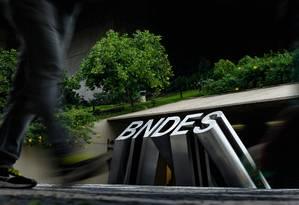 Sede do BNDES no Rio Foto: Pedro Teixeira / Pedro Teixeira / Agência O Globo