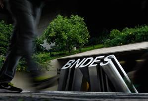Sede do BNDES no Centro do Rio Foto: Pedro Teixeira / Pedro Teixeira/ O Globo
