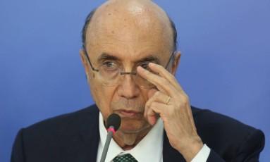 O ministro da Fazenda, Henrique Meirelles Foto: ANDRE COELHO / Agência O Globo/22-11-2016