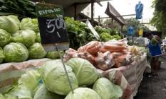 Alimentos pressionam inflação Foto: Márcia Foletto / Agência O Globo