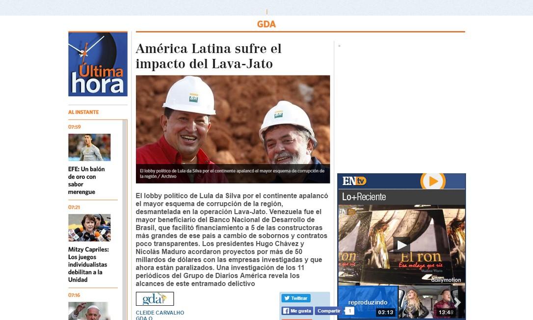 'El Nacional', Venezuela Foto: Reprodução