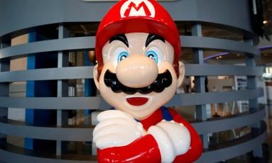 Mario, da Nintendo Foto: Issei Kato / Reuters