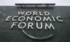 Sede do Fórum Econômico Mundial em Cologny Foto: Fabrice Coffrini / AFP