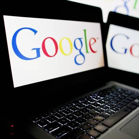 Logo da Google Foto: Andrew Harrer / Bloomberg