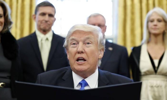 O presidente americano Donald Trump Foto: Alex Brandon / AP