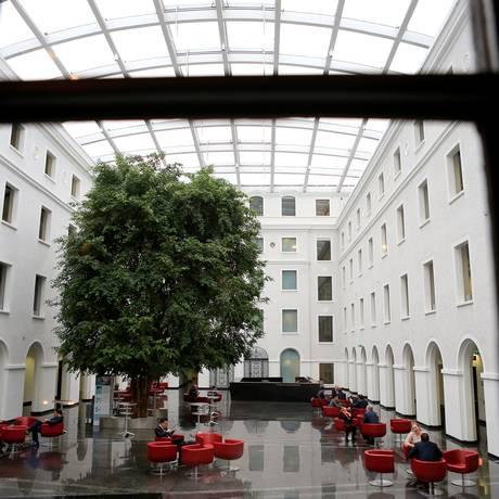 Sede da OMC, em Genebra. Pierre Albouy/REUTERS Foto: PIERRE ALBOUY / REUTERS
