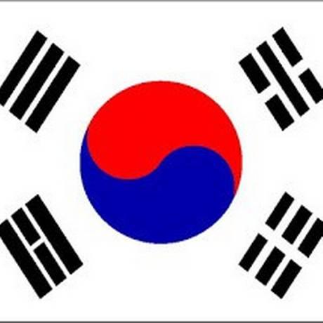 JE RJ - 09/07/2014 - Bandeira Foto: Bandeira da Coreia do Sul