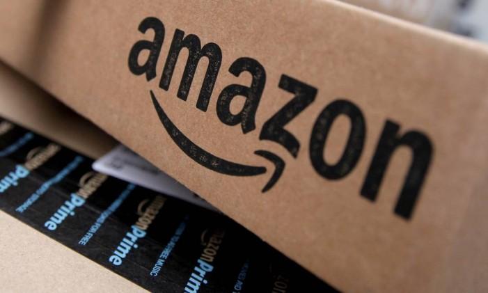 Caixa de entrega da Amazon Foto: Mike Segar / Reuters