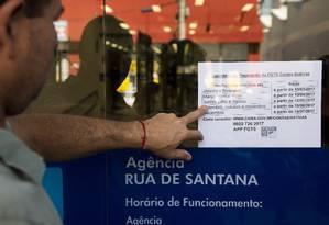Governo libera saque de FGTS de contas inativas Foto: Monica Imbuzeiro / Agência O Globo