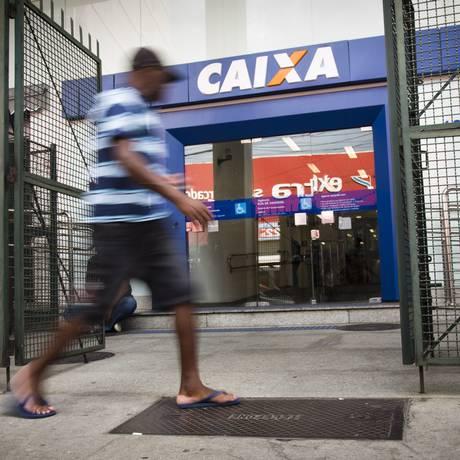 Agência da Caixa no Rio de Janeiro Foto: Monica Imbuzeiro / Agência O Globo