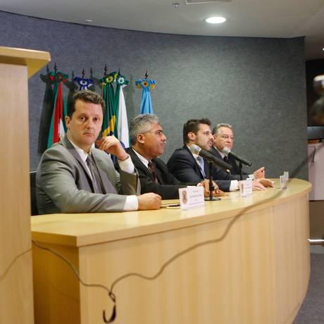 Coletiva de imprensa sobre a Operação Carne Fraca Foto: Gisele Pimenta/Framephoto / Agência O Globo