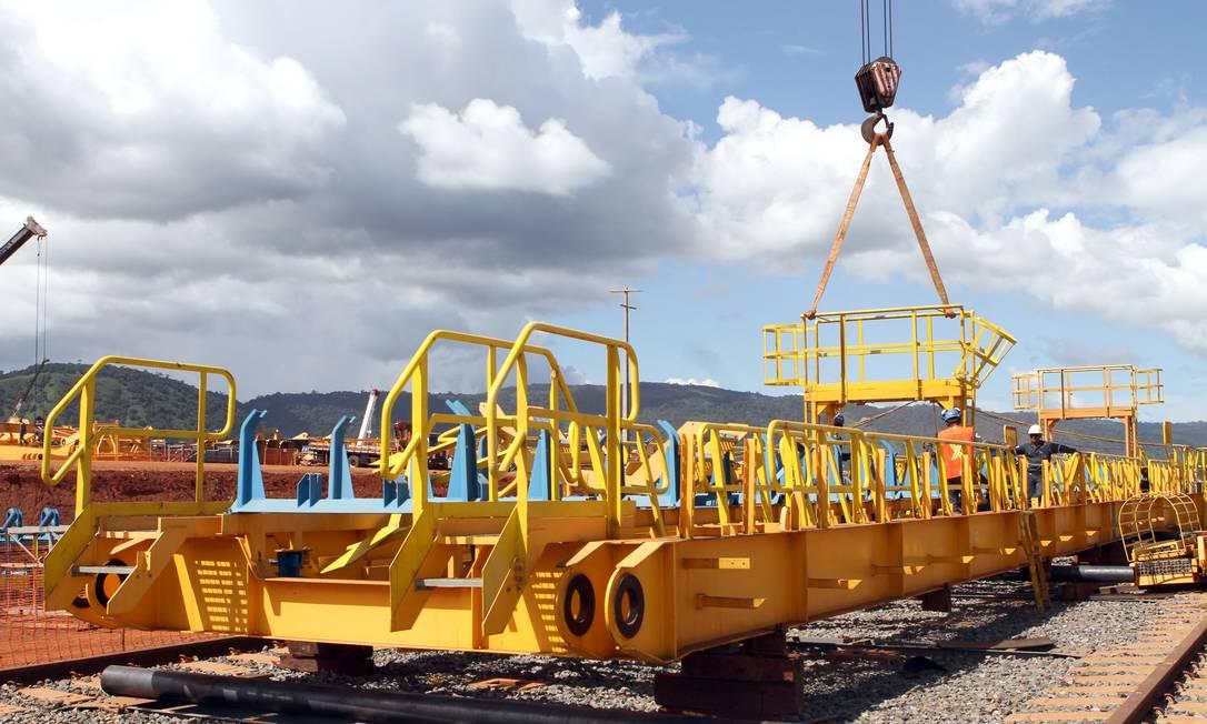 Projeto Ferro Carajás S11D, da Vale, em Canaã dos Carajás (PA) Foto: Divulgação
