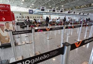 O Aeroporto Tom Jobim será controlado pela chinesa HNA e pela Chagi, de Cingapura Foto: Custódio Coimbra/2/4/2016. / Agência O Globo