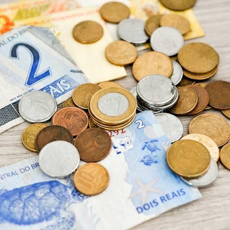 Notas e moedas de real Foto: Pixabay