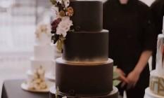 Bolo de casamento Foto: Reprodução