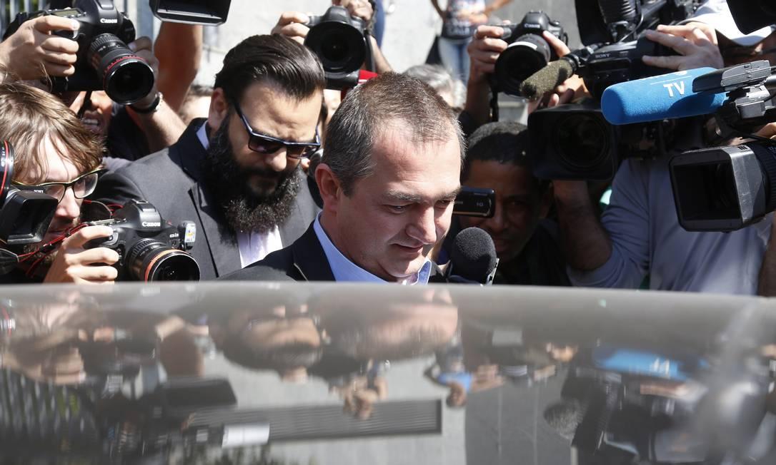 Depoimento de Joesley Batista na Superintendência Regional da Policia Federal de São Paulo Foto: Edilson Dantas / Agência O Globo