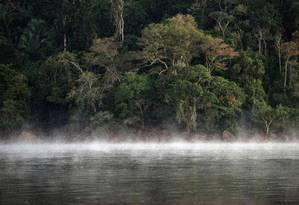 Rio Xingu, no estado do Pará, na Amazônia Foto: YASUYOSHI CHIBA / AFP
