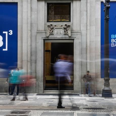 EC São Paulo ( SP ) 22/08/2017 Bolsa de valores (Bovespa). Alta na bolsa que agora tem novo nome B3 Brasil Bolsa Balcão. Foto: Edilson Dantas / Agencia O Globo Foto: Edilson Dantas / Agência O Globo