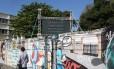 Painel mede a peda diária no orçamento das universidades públicas. Foto: Custódio Coimbra / Agência O Globo