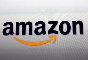 Logo da Amazon em seus escritórios em Santa Mônica, California Foto: Reed Saxon / AP
