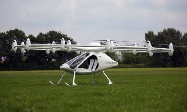 Serviço de táxi de drones testado em Dubai Foto: Divulgação / Divulgação