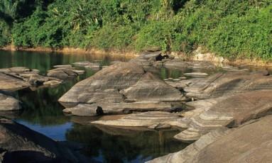 Florestas do Amapá - Margens do Rio Jari, na reserva Iratapuru Foto: Divulgação / Conservação Internacional