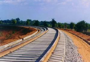 Ferrovia Foto: Divulgação / Divulgação