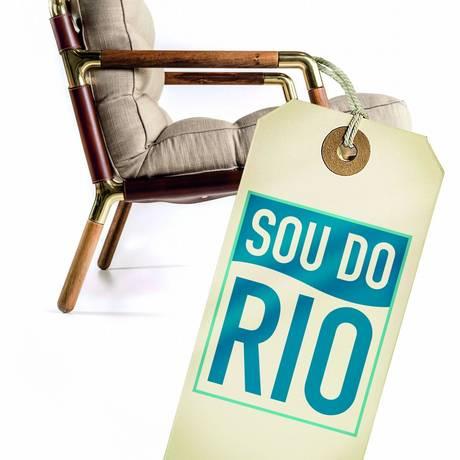 Logo do movimento Sou do Rio, lançado pela Firjan Foto: Divulgação / Divulgação