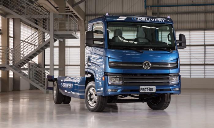 Volks fabricará caminhão elétrico no Rio