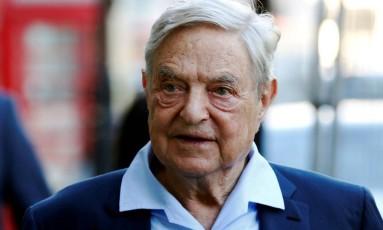 O megainvestidor George Soros Foto: Luke MacGregor / REUTERS